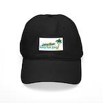 Beach Bum Black Cap