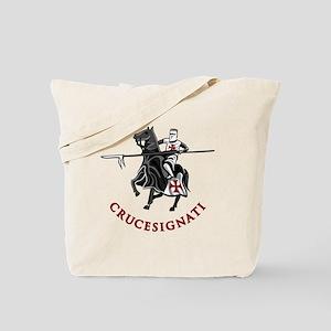 10-crusader stich Tote Bag
