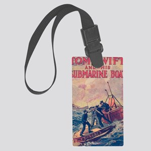 Tom Swift and his Submarine Boat Large Luggage Tag