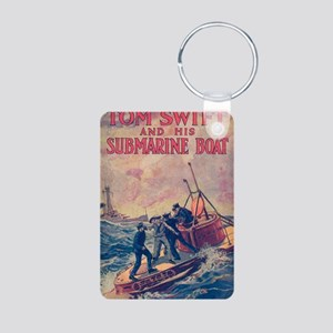 Tom Swift and his Submarin Aluminum Photo Keychain