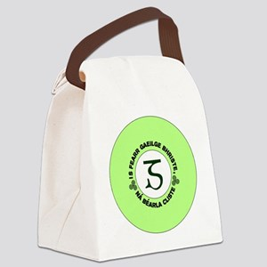 GaeligeLogo2 Canvas Lunch Bag
