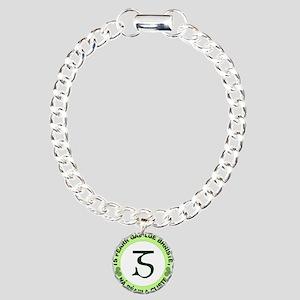 GaeligeLogo3 Charm Bracelet, One Charm