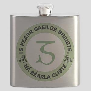 GaeligeLogo4 Flask