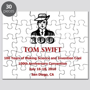 Tom Swift logo Puzzle