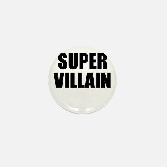 Super Villain W Mini Button