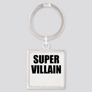 Super Villain W Square Keychain