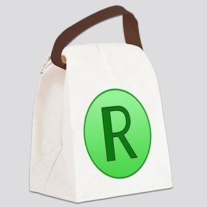 shrinking ray Canvas Lunch Bag