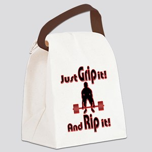 Grip and Rip it Canvas Lunch Bag
