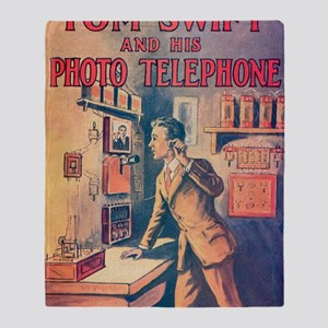 Tom Swift and his Photo Telephone Throw Blanket