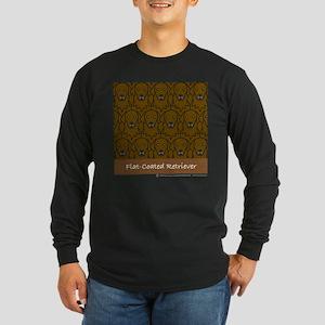 Liver Flat Coats Long Sleeve Dark T-Shirt