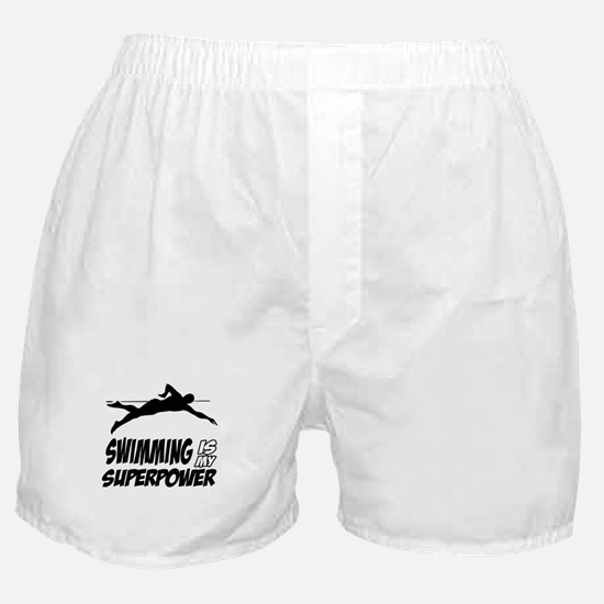 swimming is my superpower Boxer Shorts