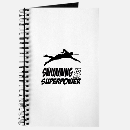 swimming is my superpower Journal