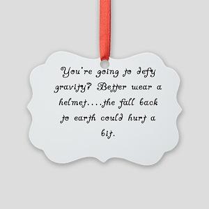DefyGravity Picture Ornament
