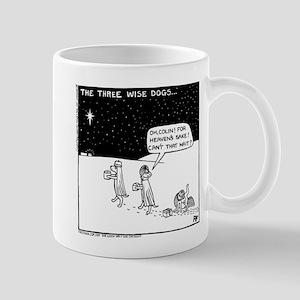 Three Wise Dogs Mug