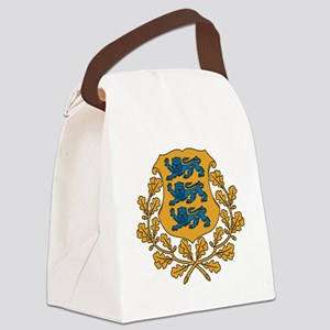 Coat of arms of Estonia Canvas Lunch Bag