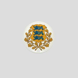 Coat of arms of Estonia Mini Button