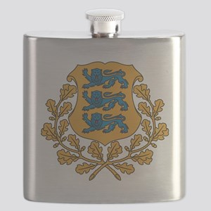 Coat of arms of Estonia Flask