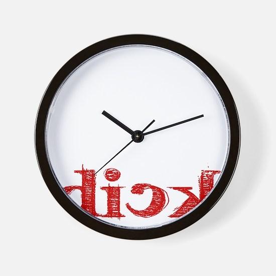 dick_white.gif Wall Clock