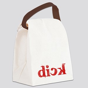 dick_white Canvas Lunch Bag