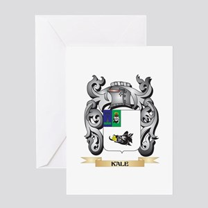 Kalous Coat of Arms - Family Crest Greeting Cards