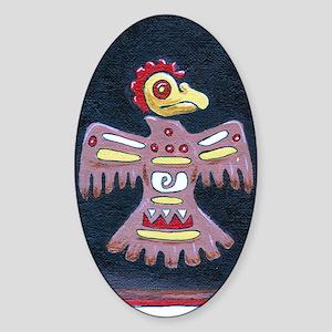 aztecbird Sticker (Oval)