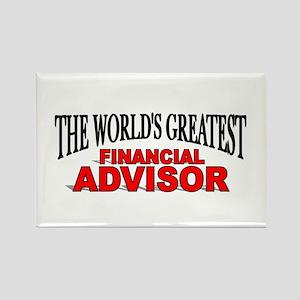 """The World's Greatest Financial Advisor"" Rectangle"