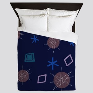 Atomic Age Art Queen Duvet