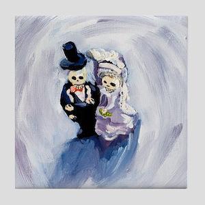 Voodoo Wedding 1 Tile Coaster