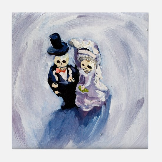Voodoo Wedding #1 Tile Coaster