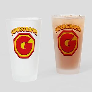 SUPERGRAMPA Drinking Glass