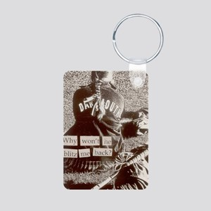 postcards 6_1_1 Aluminum Photo Keychain