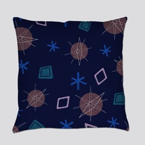 Atomic Age Art Everyday Pillow