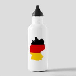 d-flag-shape Stainless Water Bottle 1.0L
