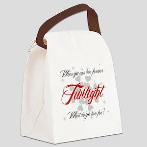 Twilight -lt Canvas Lunch Bag