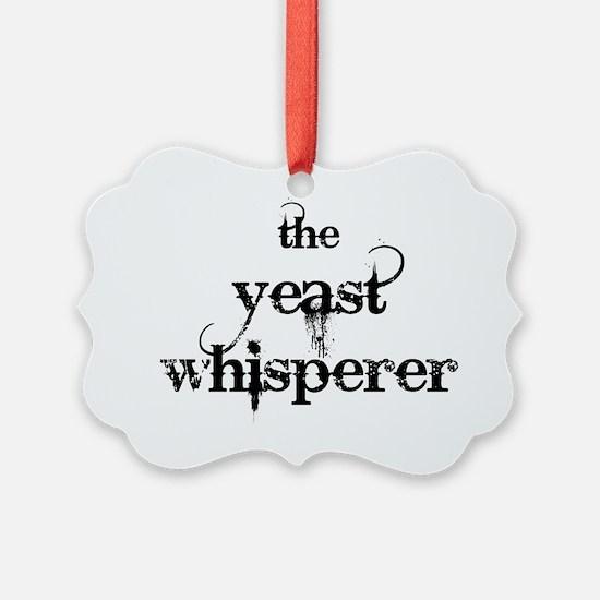 yeast whisperer 2000 black Ornament