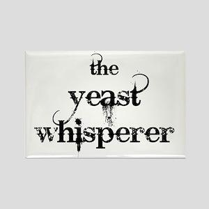 yeast whisperer 2000 black Rectangle Magnet