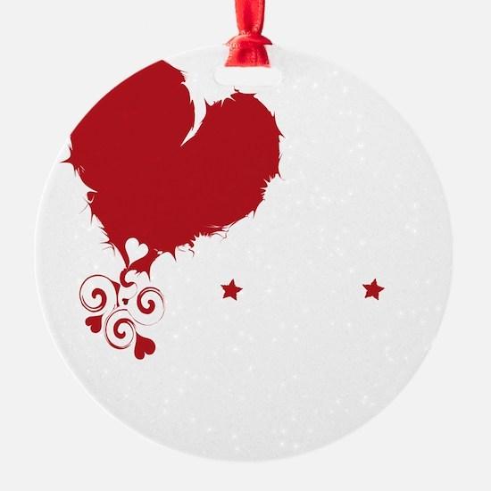 i love kindie rock_dark Ornament
