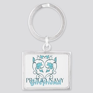Gril Landscape Keychain