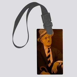 James Joyce Large Luggage Tag