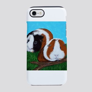 Guinea Pigs painting iPhone 7 Tough Case