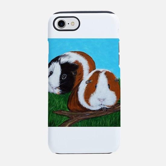 Guinea Pigs painting iPhone 7 Tough Case