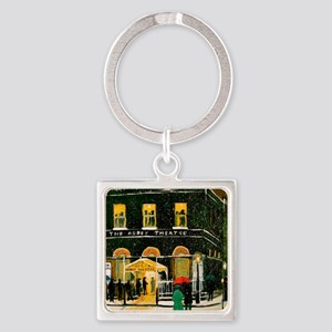 The Abbey Theatre Square Keychain