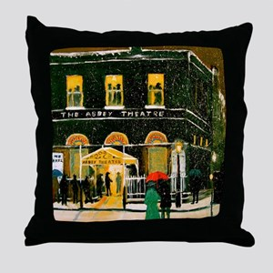 The Abbey Theatre Throw Pillow