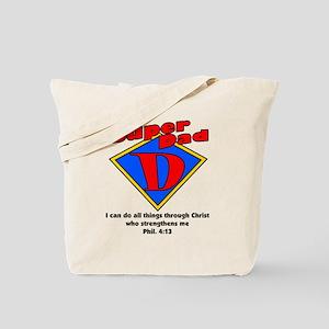 superdad-diamond-phil Tote Bag