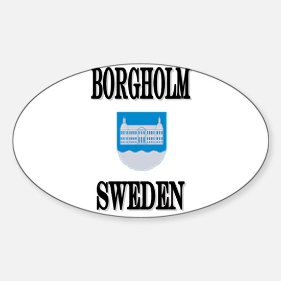 The Borgholm Store Oval Decal