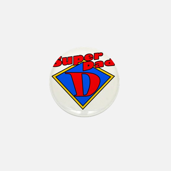 superdad-diamond-plain Mini Button