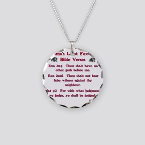 obamas least favorite bible  Necklace Circle Charm