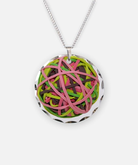 RubberbandBall042310 Necklace