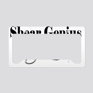 sheargenius License Plate Holder