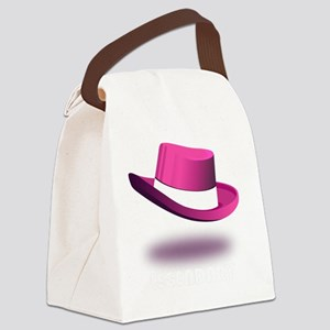 pink_legendary_dark Canvas Lunch Bag